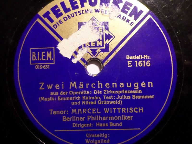 MARCEL WITTRISCH, Tenor