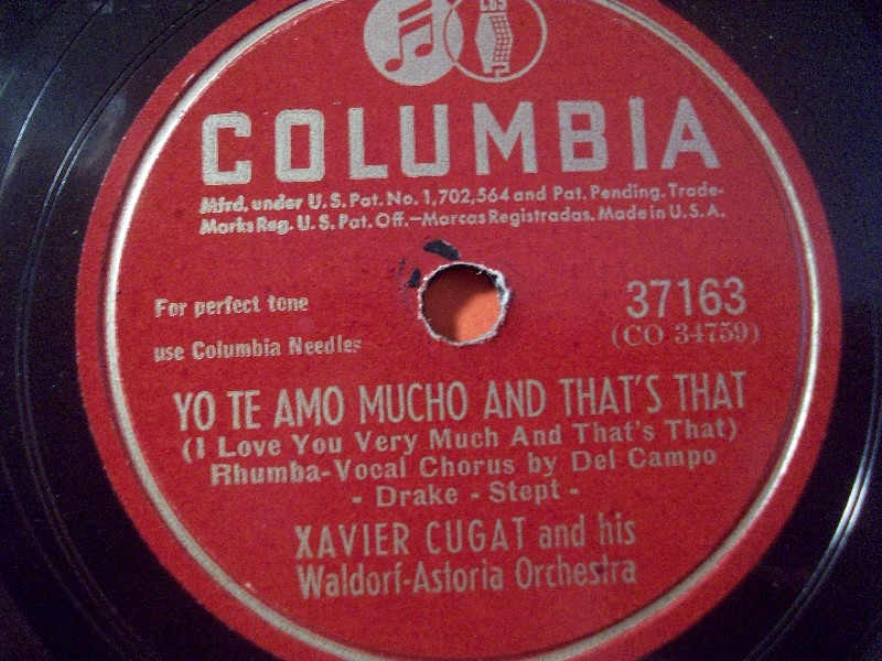Xavier Cugat And His Orchestra - Cugat In France Spain & Italy