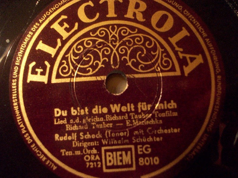 Marcel Wittrisch - Gern Hab' Ich Die Frau'n Geküßt / Grüß' Mir Mein Wien