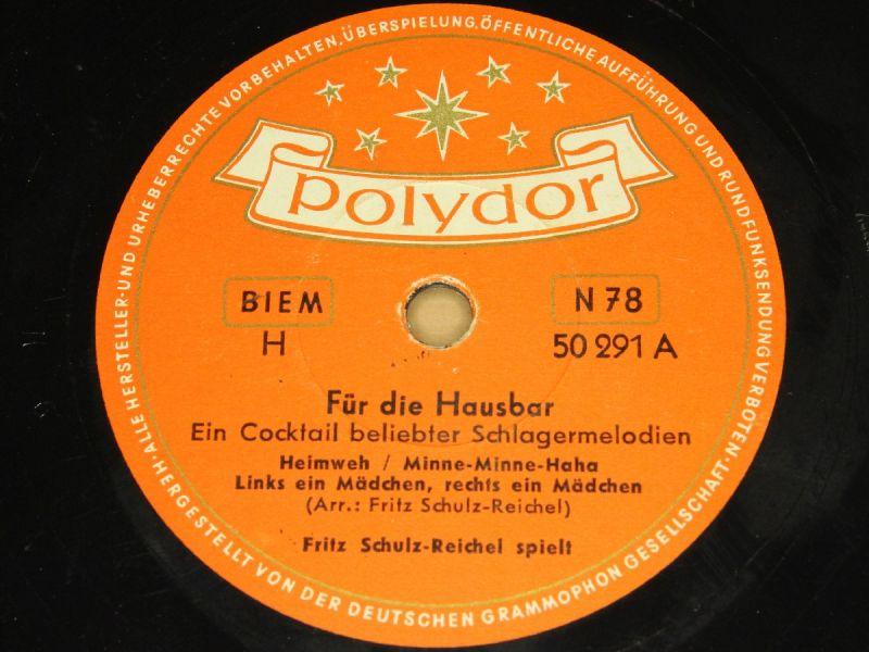 Fritz Schulz-Reichel - Mit Fritz Schulz-Reichel in einer kleinen Bar