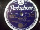 THE RAY ELLINGTON QUARTET Dream For Percussion / The Best Man Parlophone 78rpm
