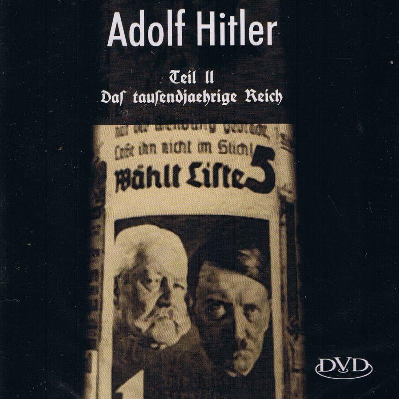 Die Chroniken des ADOLF HITLER auf 2 DVDs Original und Originalverpackt WWII