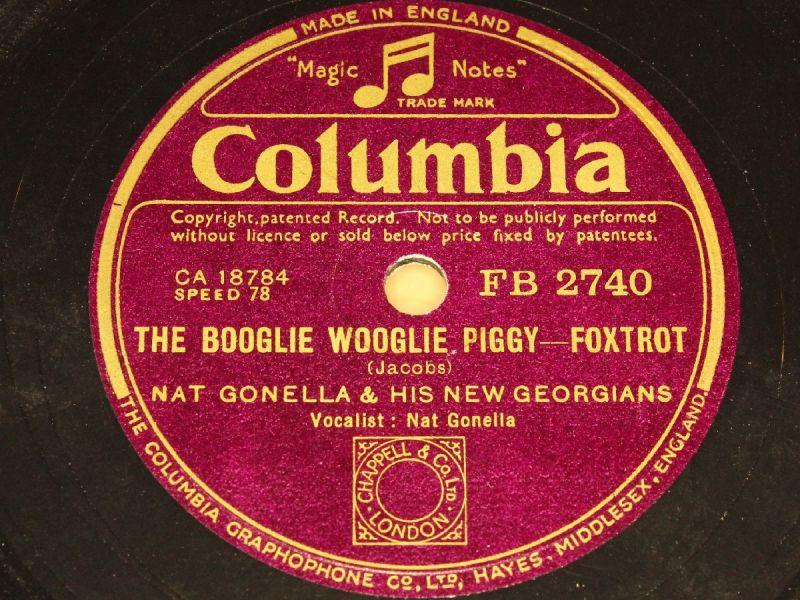 NAT GONELLA & HIS NEW GEORGIANS