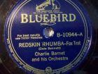 CHARLIE BARNET & HIS ORCHESTRA Southern Fried / Redskin Rhumba Bluebird 78rpm
