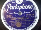 HARRY JAMES & HIS ORCHESTRA Trumpet Rhapsody - Part I & II Parlophone 78rpm