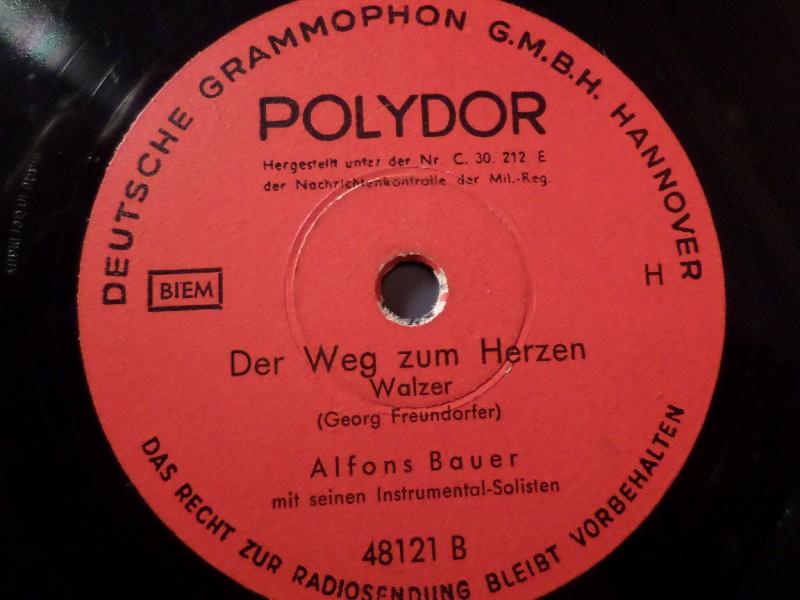 ALFONS BAUER & SEINE SOLISTEN