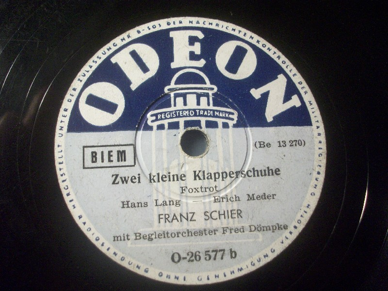 FRANZ SCHIER & FRED DÖMPKE, Schrammeln