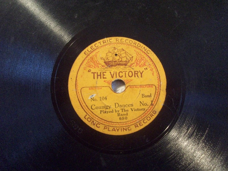 VICTORY BAND / JACK SMITHSON  The Wedding Of The Painted Doll / Country Dances I