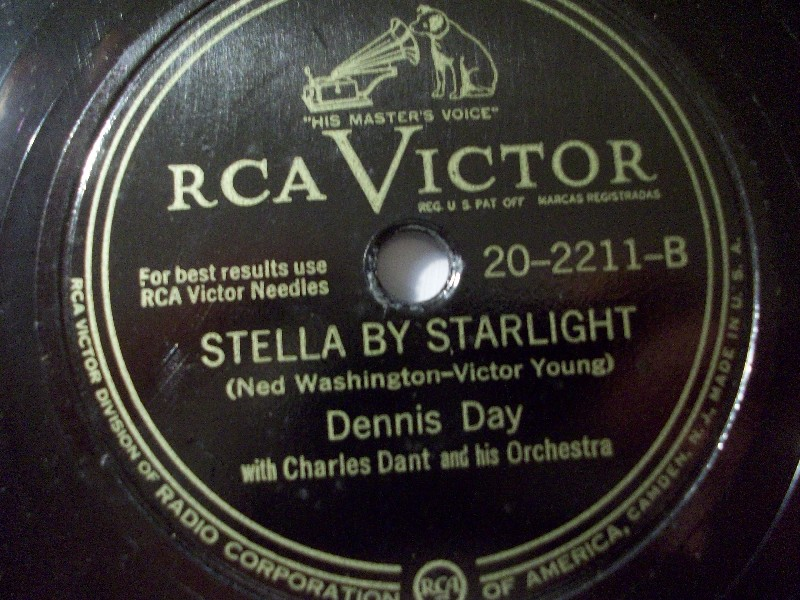 DANNIS DAY & ORCH. Stella By Starlight