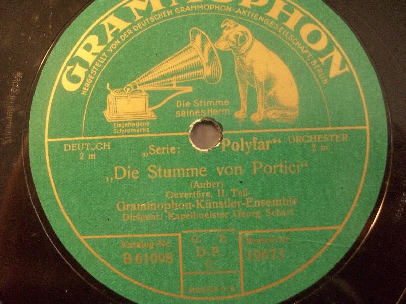 GEORG SCHARF & GRAMMOPHON-ORCH.