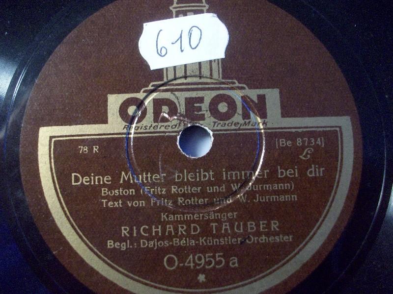RICHARD TAUBER & ORCH. DAJOS BELA