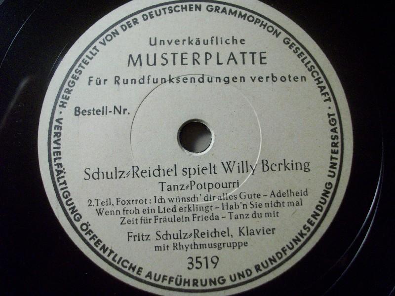 FRITZ SCHULZ-REICHEL, Klavier