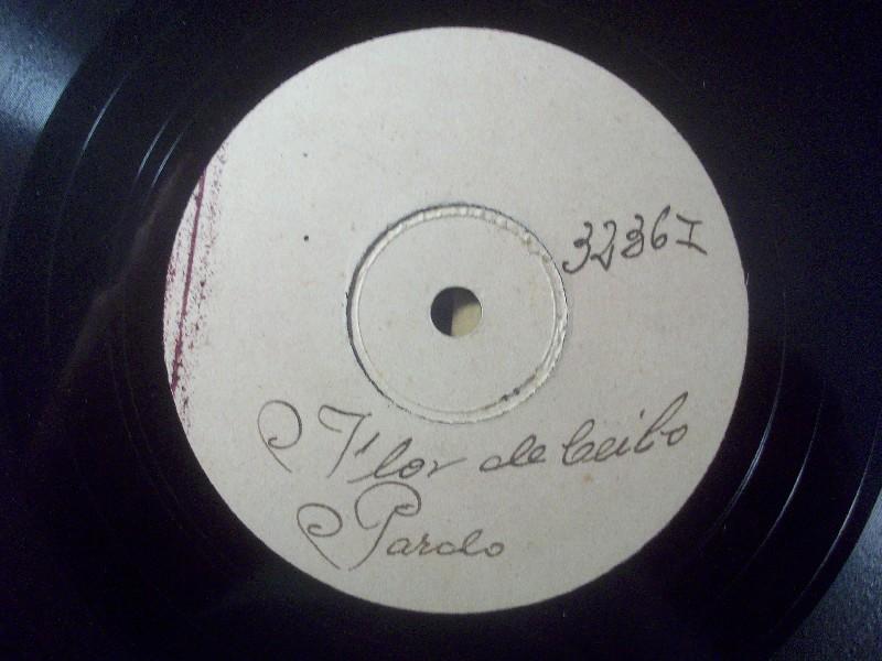 MARIO ALBERTO PARDO  Odeon Test Pressing 3236-I Tango rare 78rpm  1928
