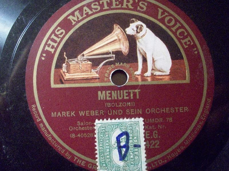 MAREK WEBER & ORCH.