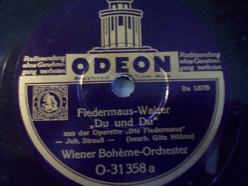 WINER BOHÉME ORCH.