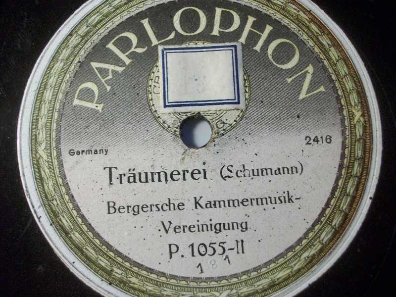 BERGSCHE KAMMERMUSIK-VEREINIGUNG