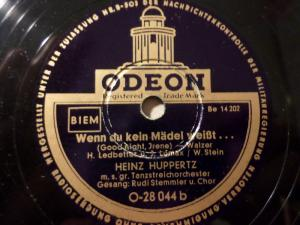 RUDI STEMMLER & ORCH. HEINZ HUPPERTZ
