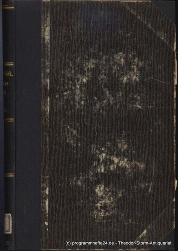Möller, Heinrich, Frick, Hermann Möllers Lehrbuch der Chirurgie für Tierärzte Bd. 1: Möller's Lehrbuch der allgemeinen Chirurgie für Tierärzte