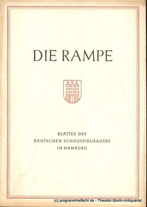 Lippert Albert, Benninghoff Ludwig Die Rampe. Blätter des Deutschen Schauspielhauses in Hamburg Spielzeit 1954 / 55 Heft 17. Der Kirschgarten von Anton Tschechow