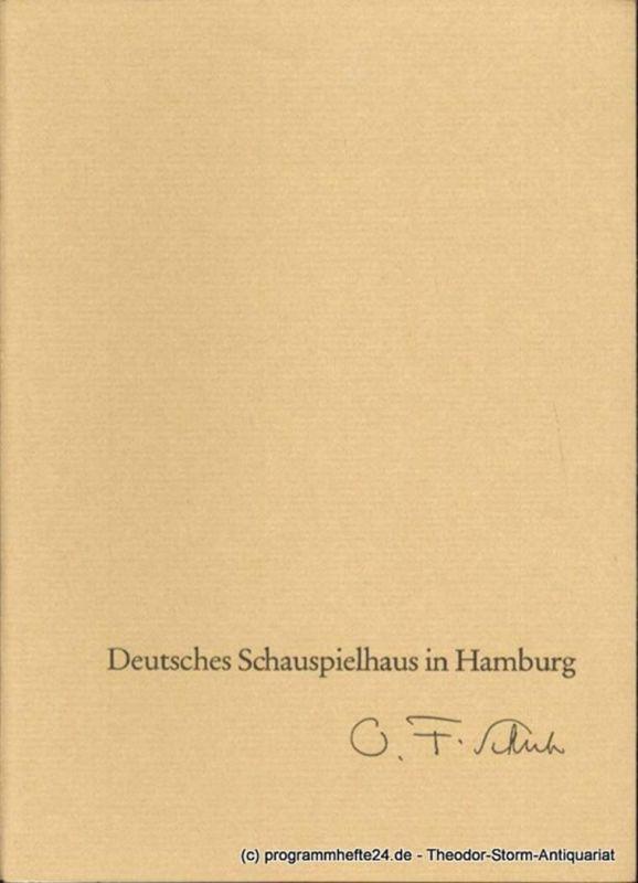Schuh Oscar Fritz ( Intendant ), Penzoldt Günther, Wilken Rolf, Strindberg August Eröffnungspremiere Mittwoch, 11. September 1963. Ein Traumspiel. Deutsches Schauspielhaus in Hamburg. Programmheft Spielzeit 1963 / 64 Heft 1