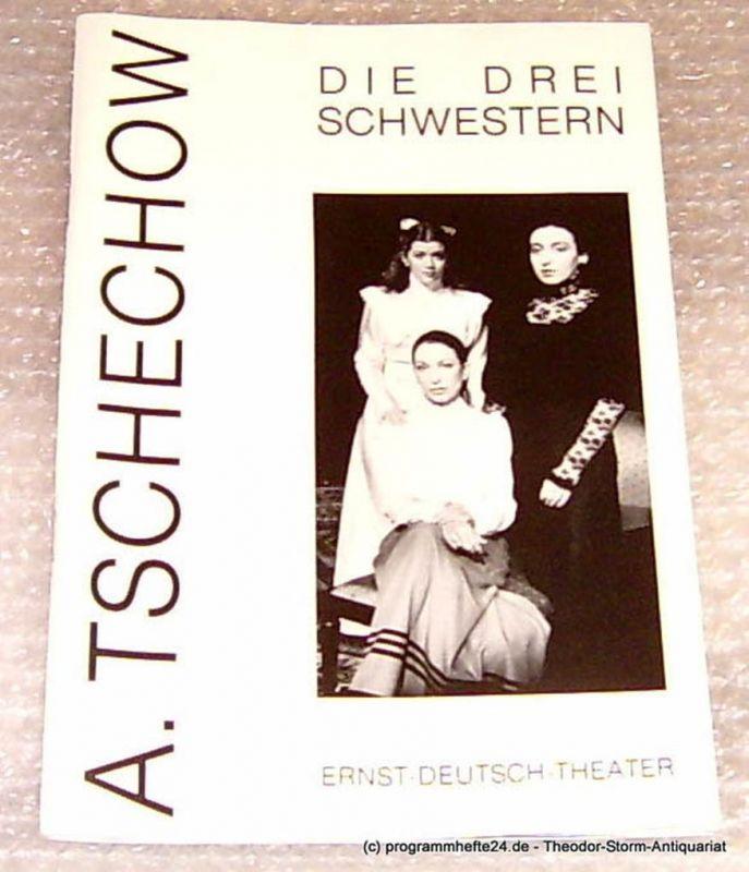 Ernst-Deutsch-Theater Hamburg, Direktion Friedrich Schütter, Wolfgang Borchert Programmheft Die drei Schwestern von Anton Tschechow. Premiere 19. Januar 1994