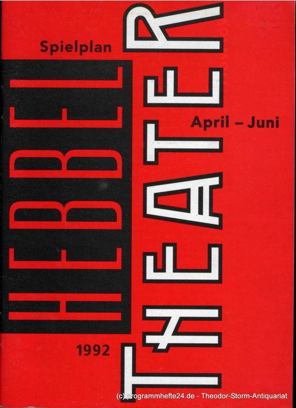 Hertling Nele Spielplan Hebbel Theater April - Juni 1992