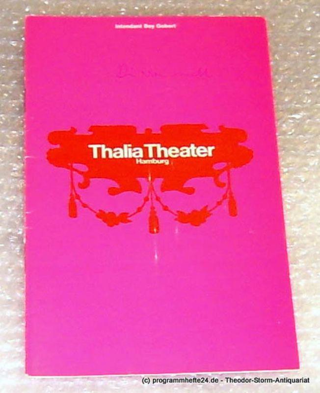 Thalia Theater Hamburg, Intendant Boy Gobert Programmheft König Johann von Friedrich Dürrenmatt nach William Shakespeare Spielzeit 1969/70 Heft 10