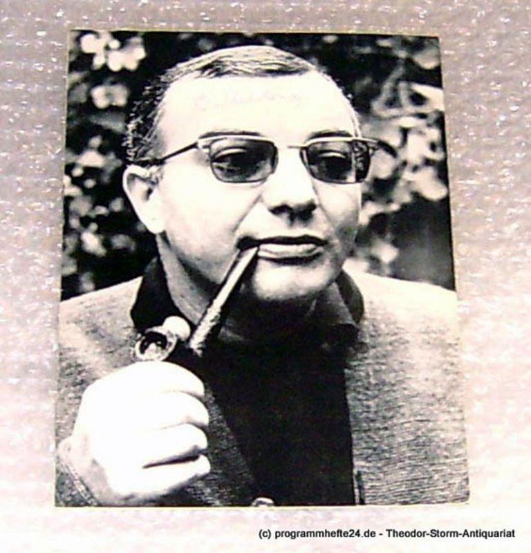 Thalia Theater Hamburg Programmheft Durch die Wolken. Bürgerliches Epos von Francois Billetdoux. Spielzeit 1968/69 Heft 11