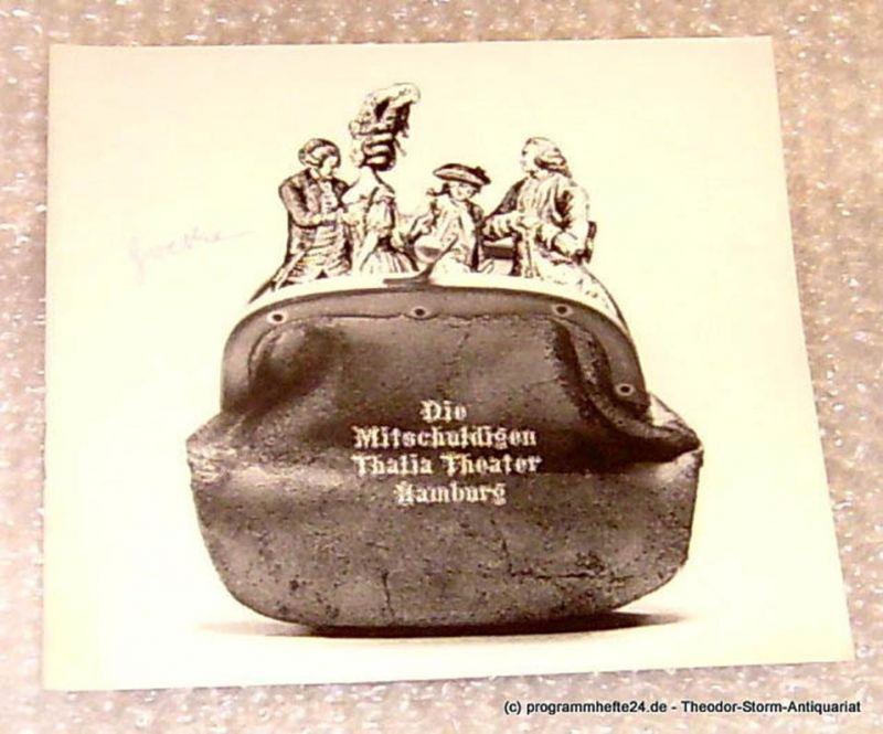 Thalia Theater Hamburg, Intendant Boy Gobert Die Mitschuldigen. Lustspiel von Johann Wolfgang Goethe. Programmheft Spielzeit 1971/72 Heft 12