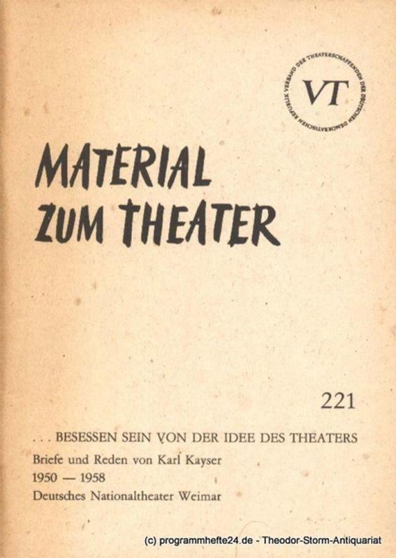John Hans-Rainer Material zum Theater Nummer 221 Reihe Schauspiel Heft 71