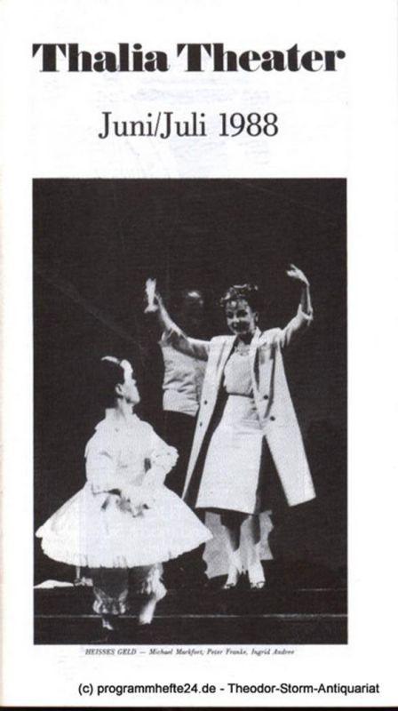 Thalia Theater Hamburg, Jürgen Flimm Thalia Theater Juni / Juli 1988