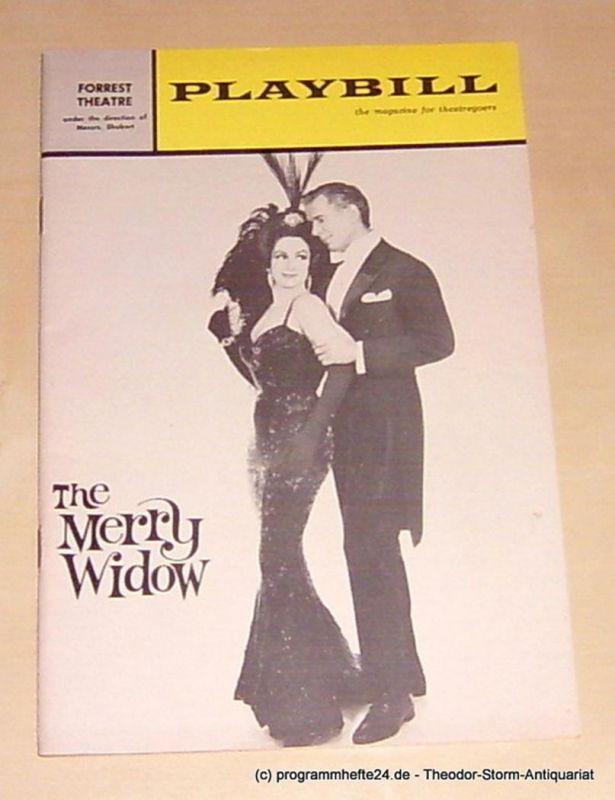 Lehar Franz, Wager Walter, Kamens I.L., Winston Howard The Merry Widow. Playbill the magazine for theatregoers Vol. 1 December 1964 No. 12
