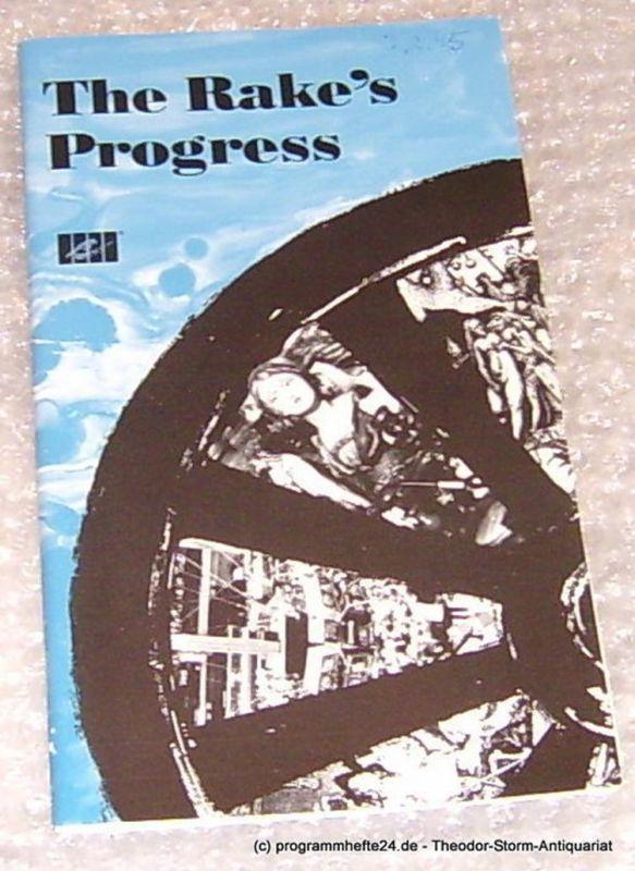 Städtische Theater Chemnitz, Leimert Volkmar Programmheft The Rake´s Progress. Premiere 5. Februar 1994