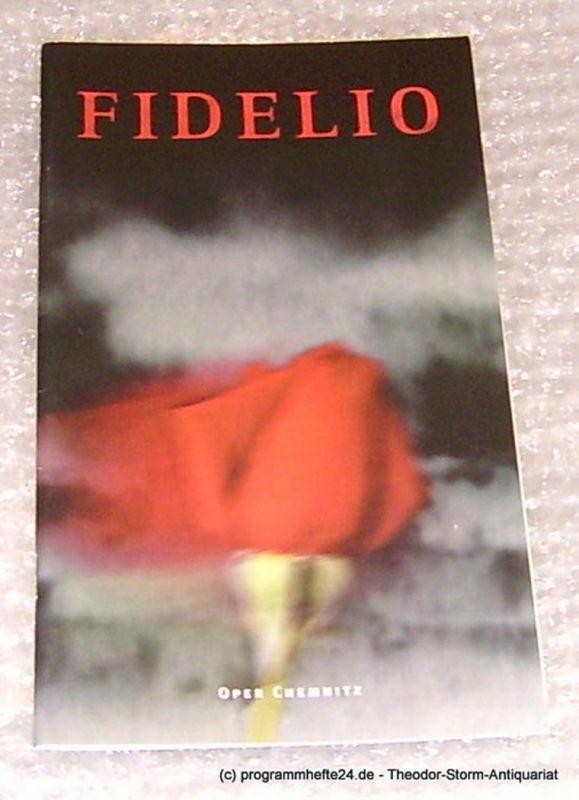 Städtische Theater Chemnitz, Neppl Carla Programmheft Fidelio. Oper Chemnitz Premiere 19. Dezember 1997