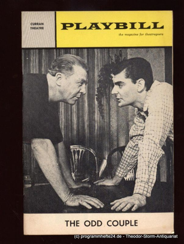 Kamens I.L., Winston Howard PLAYBILL. The Magazine for Theatregoers. Vol. 3 January 1966 No. 1