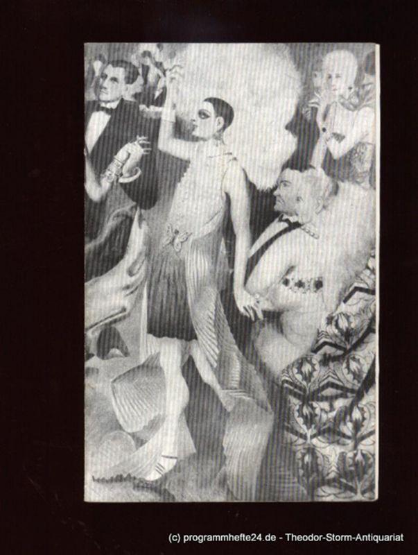 Staatsoperette Dresden, Prof. Steiner, Ortwein Gerhild Programmheft CABARET. Musical. DDR-Erstaufführung. 3. Programmheft der Spielzeit 1975 / 76. Premiere am 18. und 19. Januar 1976