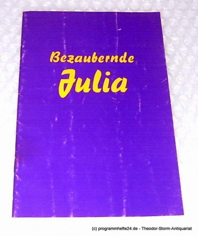 Renaissance-Theater, Dr. Horst Mesalla, Weno Marianne Programmheft Bezaubernde Julia. Komödie von Marc-Gilbert Sauvajon