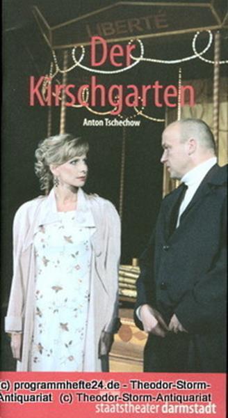 Staatstheater Darmstadt, John Dew, Martin Apelt, Astrid Biesemeier Programmheft Der Kirschgarten von Anton Tschechow. Premiere 11. November 2005