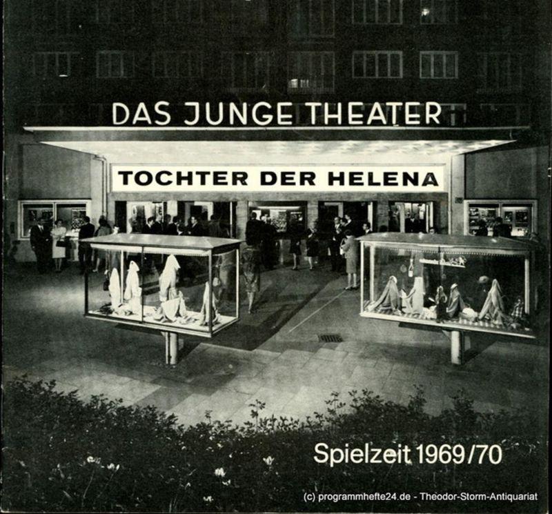 Das Junge Theater, Friedrich Schütter, Wolfgang Borchert Programmheft Tochter der Helena. Komödie von Hans Koningsberger. Deutsche Erstaufführung. Spielzeit 1969 / 70 Heft 11