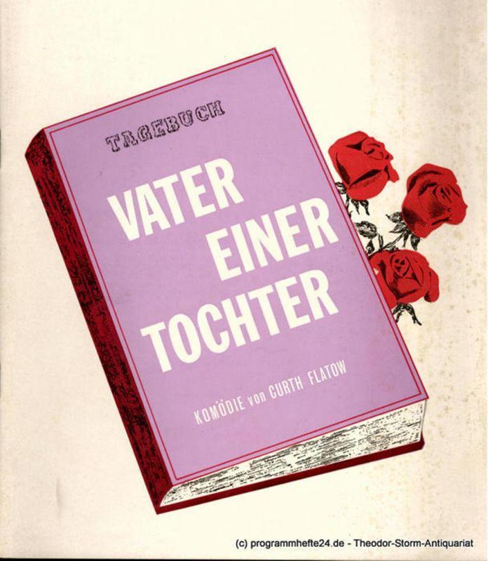 Theater am Kurfürstendamm, Christian Wölffer Programmheft Vater einer Tochter. Komödie von Curth Flatow. Uraufführung. Spielzeit 1965 / 66
