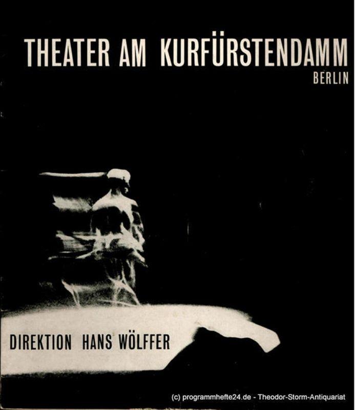 Theater am Kurfürstendamm, Direktion Hans Wölffer Programmheft Irma la Douce. Ein Stück von Alexandre Breffort. Spielzeit 1963 / 64 Heft 1