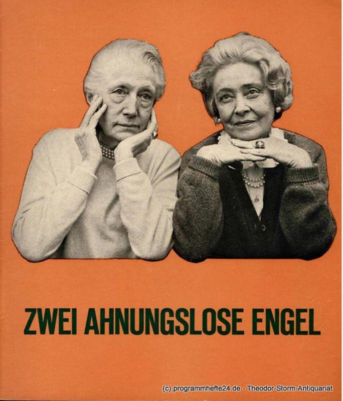 Theater am Kurfürstendamm, Christian Wölffer Programmheft Zwei ahnungslose Engel. Komödie von Erich Ebermayer. Uraufführung. Spielzeit 1966 / 67