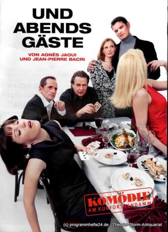 Komödie am Kurfürstendamm, Direktion Woelffer Programmheft Und Abends Gäste von Agnes Jaoui und Jean-Pierre Bacri. Premiere am 25. Februar 2008