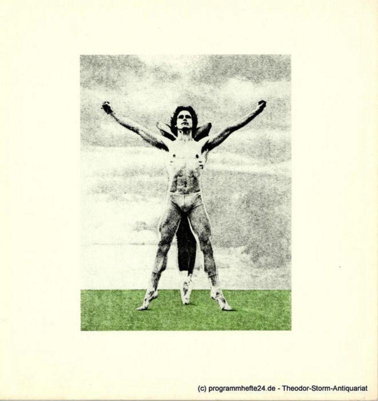 Hamburgische Staatsoper, Christoph von Dohnanyi, Barbara Hering Programmheft Lieb' und Leid und Welt und Traum. Ballett von John Neumeier. Premiere am 6. Juli 1980
