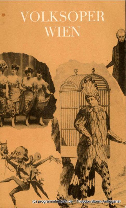Direktion der Volksoper Wien, Marcel Prawy, Otto Fritz Programmheft DIE CSARDASFÜRSTIN. Premiere 27. Juni 1966 ( Zum ersten Male an der Volksoper )