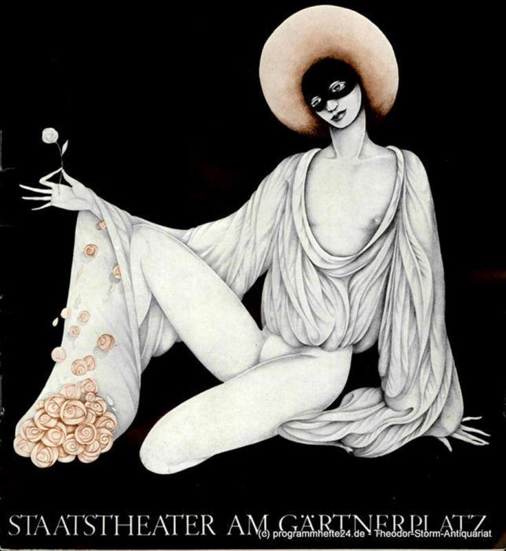Bayerisches Staatstheater am Gärtnerplatz, Kurt Pscherer, Peter Kertz Programmheft Die verkaufte Braut. Komische Oper von Karel Sabina. 28. März 1979