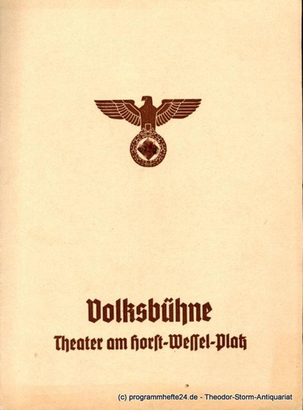 Volksbühne Berlin, Theater am Horst-Wessel-Platz, Eugen Klöpfer, Fritz R. Schulz Programmheft Romeo und Julia. Trauerspiel von Shakesspeare