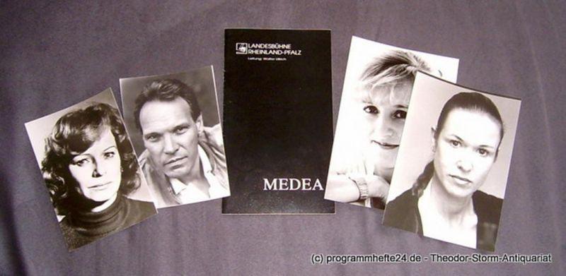 Landesbühne Rheinland-Pfalz, Walter Ullrich, Hans-Peter Heck Programmheft MEDEA Spielzeit 1993 / 94 Heft 1