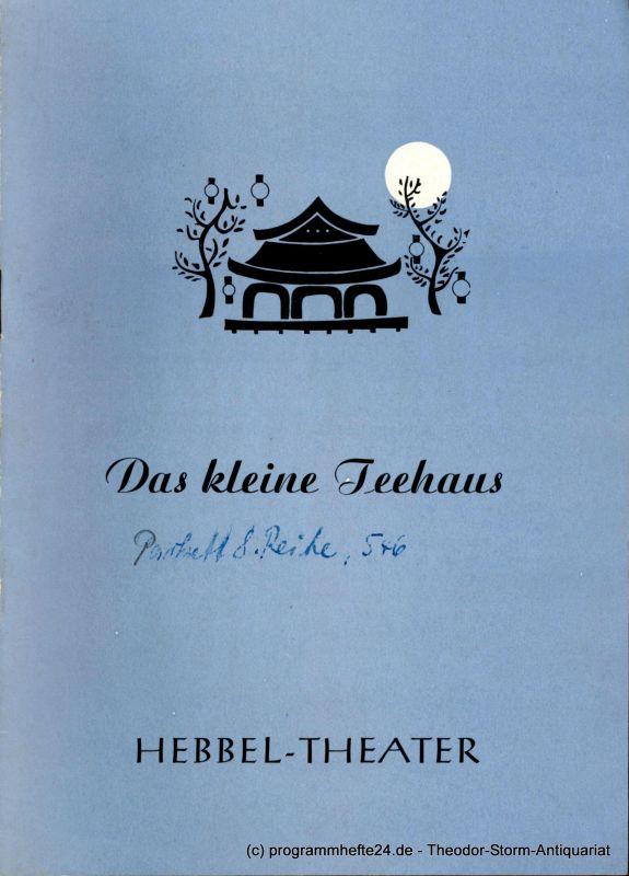 Hebbel Theater, Rudolf Külüs Programmheft Das kleine Teehaus. Ein Spiel von John Patrick