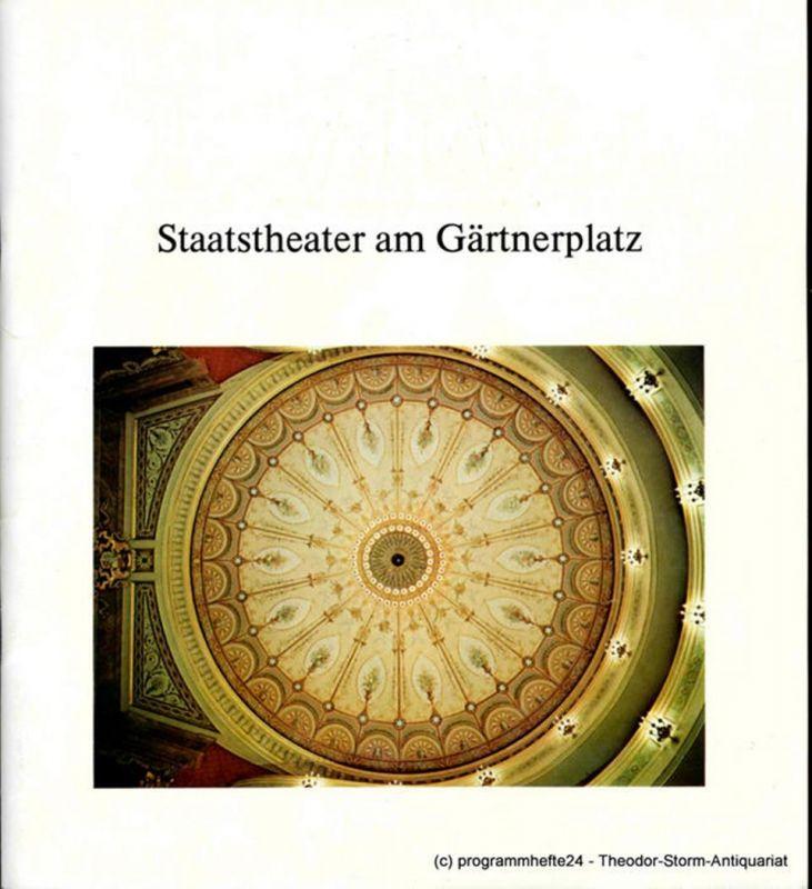Staatstheater am Gärtnerplatz, Kurt Pscherer, Jost Miehlbradt, Wolfgang Ebbecke Programmheft Neuinszenierung Die lustigen Weiber von Windsor 15. Oktober 1981. Spielzeit 1981 / 82 Heft 1